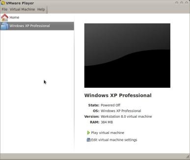 vmware-player-screenshoot